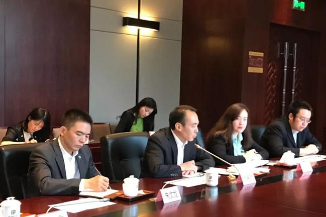 商务部投资促进事务局刘殿勋局长一行在汉与湖北企业代表座谈
